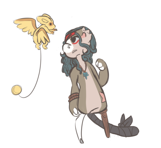 Vermin fun - Another rat with wings by RascalWabbit