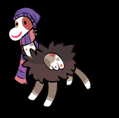 Fashionable Floophorse! by RascalWabbit