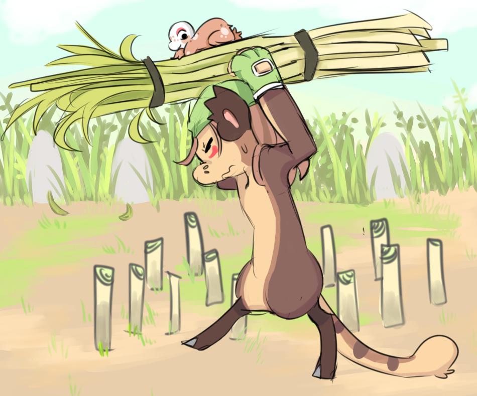 Kanga - The harvest by RascalWabbit