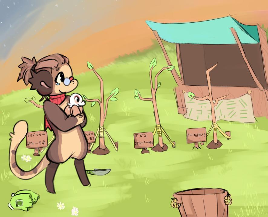 Kanga - The Farmer by RascalWabbit