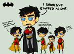 Batman- Dont have kids