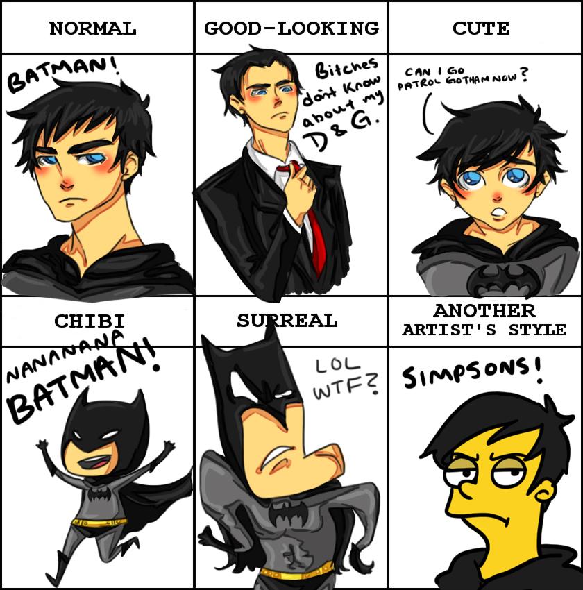 Pixiv Meme Batman by rosey-so-silly