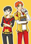 YJ- Robin and Kid Flash