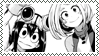 Stamp: Uraraka and Tsuyu (Boku No Hero Academia) by SwiftCloud04