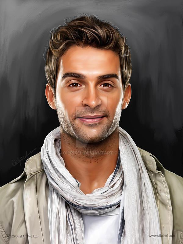 Self Digital Portrait Painting Oilpixel By Oilpixel On