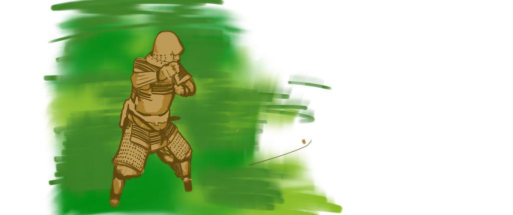 Samurai I wip by Heathcliffe1000