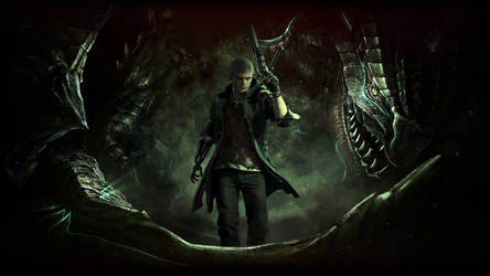 Scalebound X DevilMayCry - The Boy and the Dragon by FinalMayFateAngel