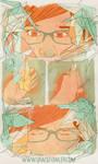1000 PAPER CRYS by Yaoi-Panic
