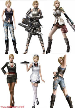 Aya Brea Outfits