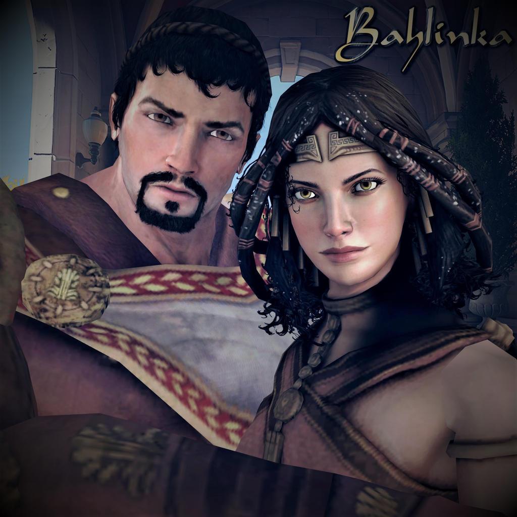 Jason and Alceme by Bahlinka