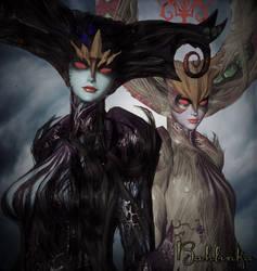 Madama Butterfly and Madama Styx