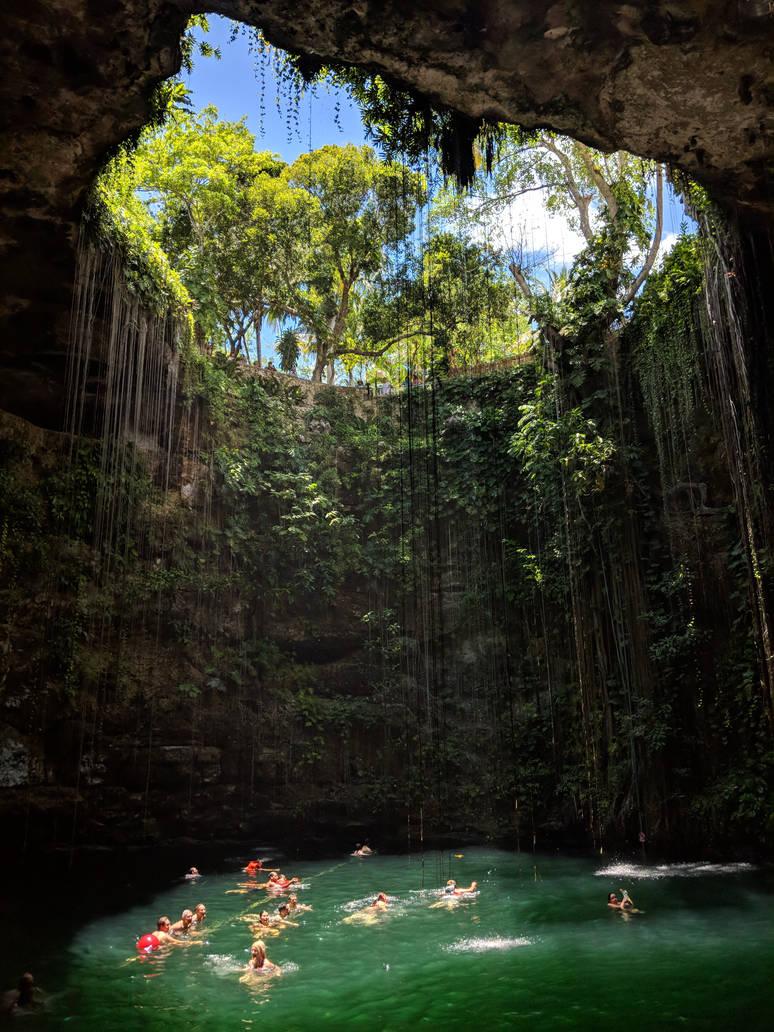 Cenote Ik kil, Mex