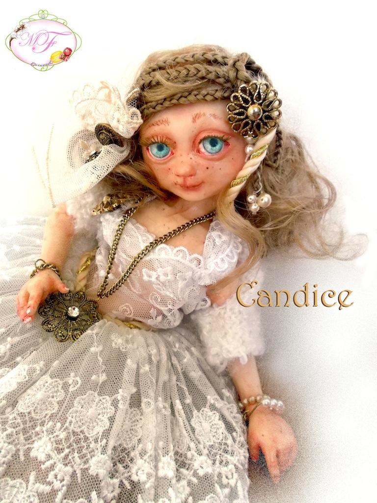 Candice BJD HANDMADE by Lesmerveillesdeflora