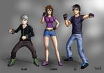 Blade - Lauren - KT- shounen commission characters by Tiger-Ki