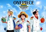 The monstrous trio - One Piece - Tiger Ki by Tiger-Ki