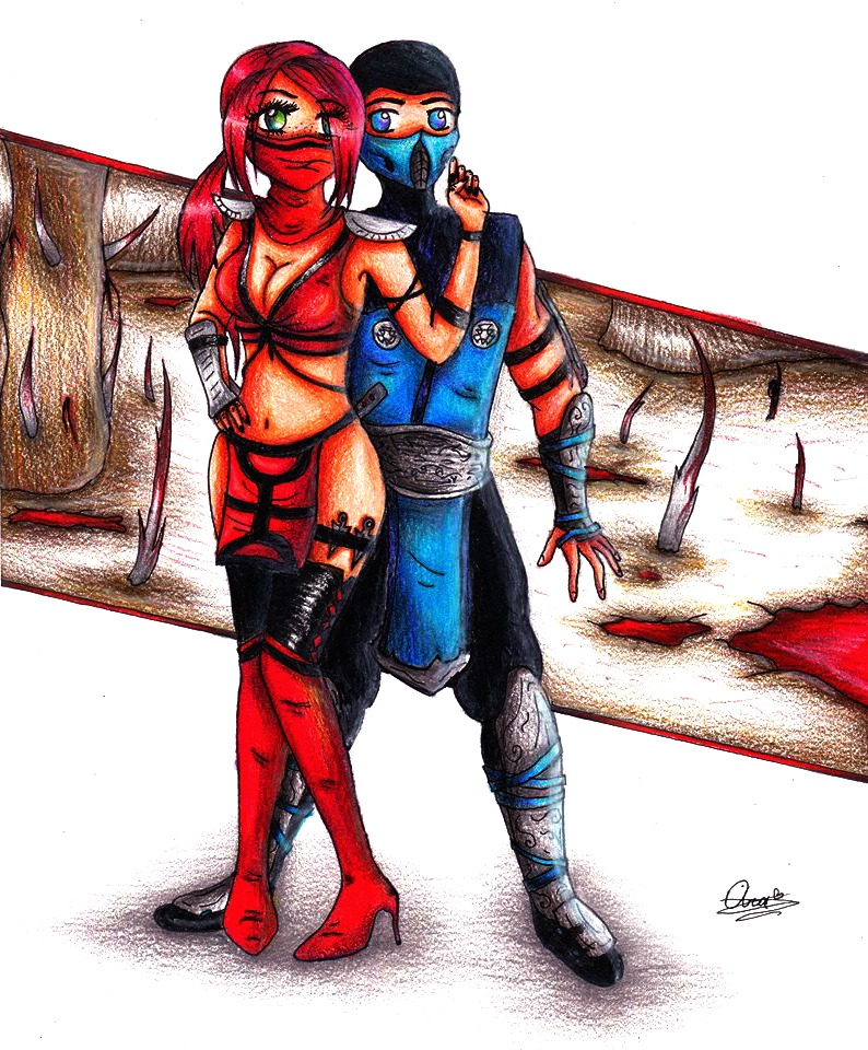 Pictures of Mortal Kombat Skarlet And Sub Zero - #rock-cafe