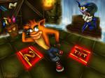 Crash Bandicoot Boss: Ripper Roo