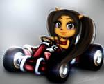 [Crash Team Racing] Ara Bandicoot