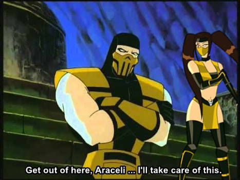 Scorpion and Araceli [MK: Defenders of the Realm]