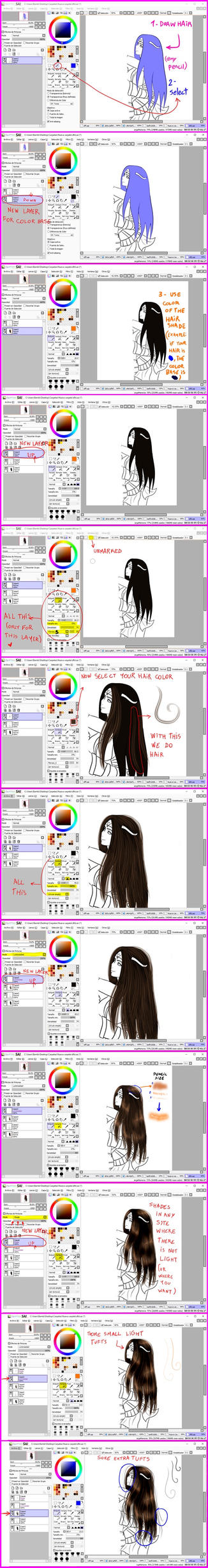 My way to do hair :3 by Jann-Lee-98