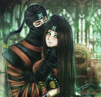 Stay with me by Scorpion-Ermac-MK