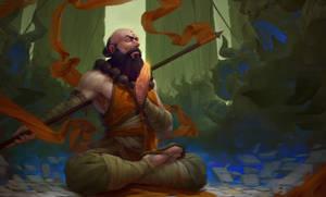 Diablo3 Monk Fanart