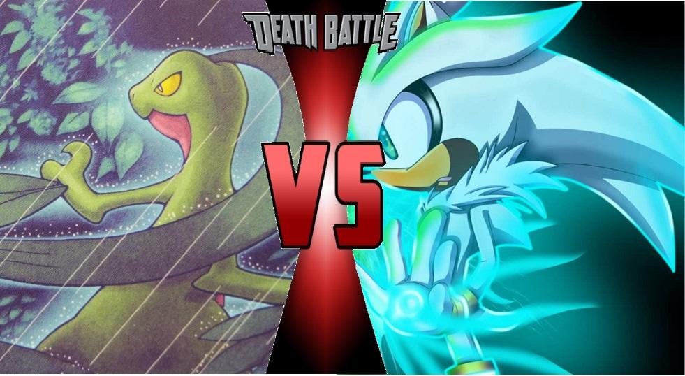 Death Battle Grovyle Vs Silver The Hedgehog By Lightningboomer On Deviantart