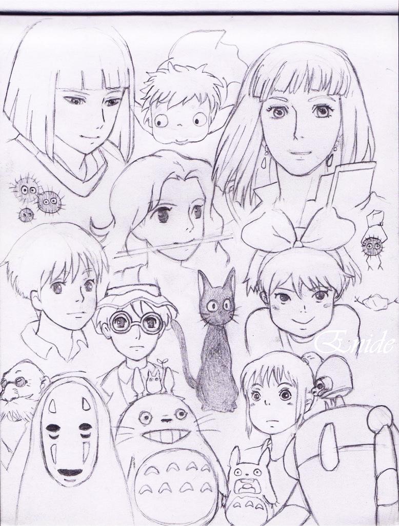 What hayao miyazaki hentai doujinshi want