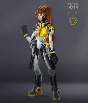 Yellow jacket by aoiMusubi