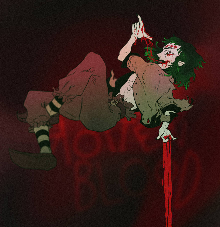 Rotten Blood by aoiMusubi