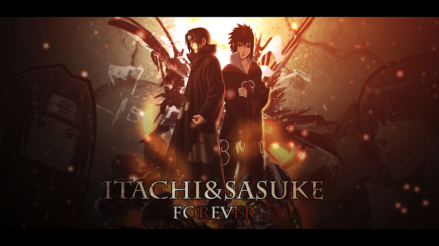 Itachi And Sasuke WallPaper By Brus99