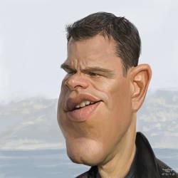 Matt Damon by YoannLori