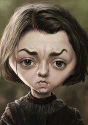 Maisie Williams by YoannLori