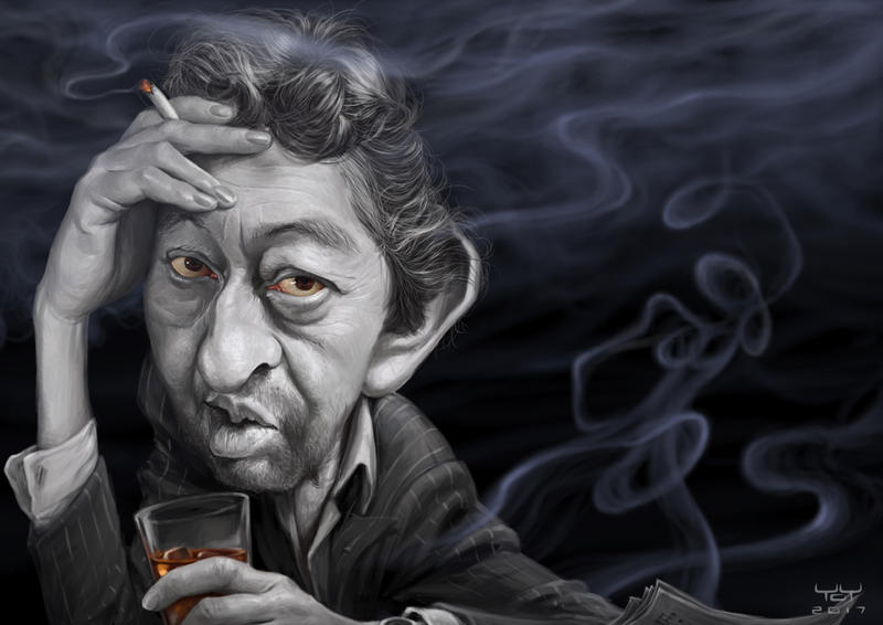 Serge Gainsbourg by YoannLori
