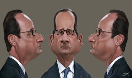 Francois Hollande turnaround by YoannLori