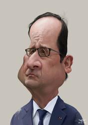 Francois Hollande by YoannLori