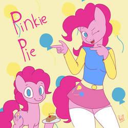 Pinkie Pie And Pinkie Pie by RedPrep