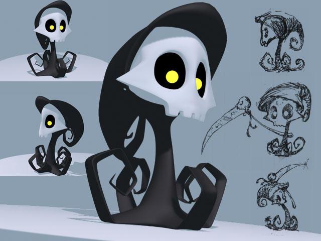 Lil' Grim by rebel-penguin