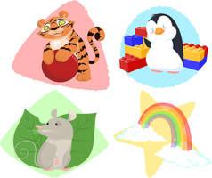 Nursery School Pets by rebel-penguin