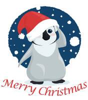 Christmas Penguin by rebel-penguin