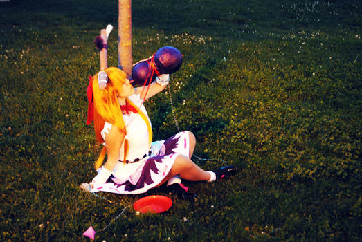 Suika Ibuki: Forgathering Dream by SweetCandyCupkake
