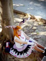 Suika Ibuki: Broken Moon by SweetCandyCupkake