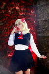Rumia Cosplay: Apparitions Stalk the Night by SweetCandyCupkake
