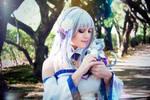 Emilia Cosplay II by SweetCandyCupkake