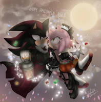 Shadamy - Happy Halloween 2016 by 1412Shadow