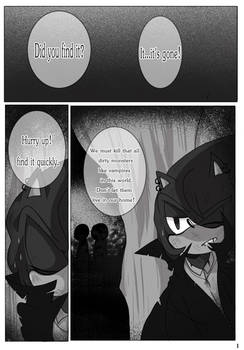 The Night Canine Comic - Page 1