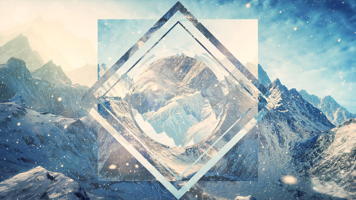 Download Wallpaper Mountain Triangle - hipster_wallpaper_concept_mountains_by_centoste-d93unu6  Best Photo Reference_376542.jpg