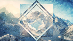Hipster Wallpaper Concept Mountains