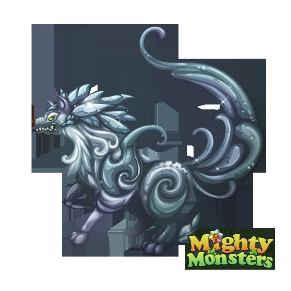 Frost wolf by vinciruz