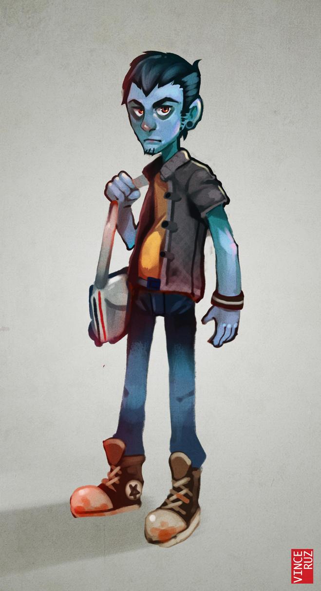 Character Design Practice by vinciruz